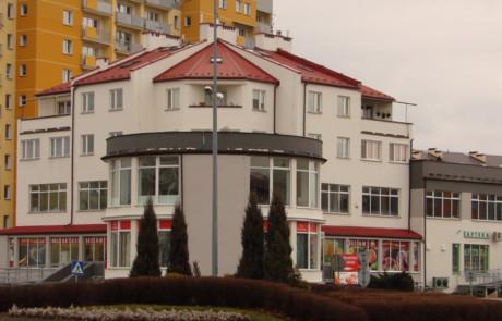 Budynek mieszkalno-usługowy Tarnobrzeg ul Zwierzyniecka