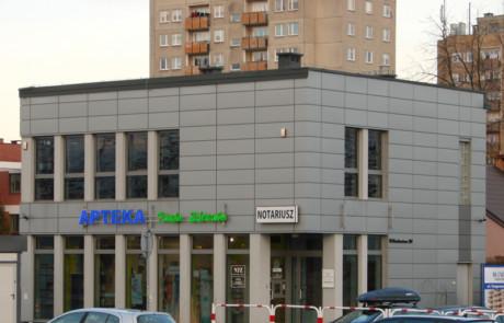 budynek usługowo-handlowy w Tarnobrzegu
