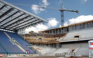 rozbudowa stadionu miejskiego w Krakowie